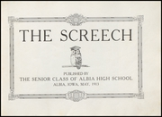 Page 7, 1913 Edition, Albia Community High School - Screech Yearbook (Albia, IA) online yearbook collection
