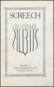 Page 7, 1915 Edition, Albia Community High School - Screech Yearbook (Albia, IA) online yearbook collection