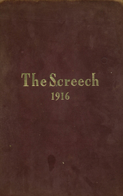 1916 Edition, Albia Community High School - Screech Yearbook (Albia, IA)