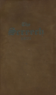 1921 Edition, Albia Community High School - Screech Yearbook (Albia, IA)