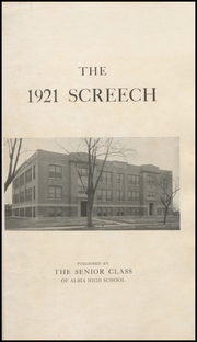 Page 5, 1921 Edition, Albia Community High School - Screech Yearbook (Albia, IA) online yearbook collection