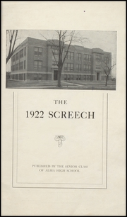 Page 5, 1922 Edition, Albia Community High School - Screech Yearbook (Albia, IA) online yearbook collection