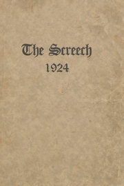 1924 Edition, Albia Community High School - Screech Yearbook (Albia, IA)