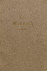 1925 Edition, Albia Community High School - Screech Yearbook (Albia, IA)