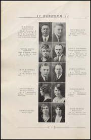 Page 14, 1931 Edition, Albia Community High School - Screech Yearbook (Albia, IA) online yearbook collection