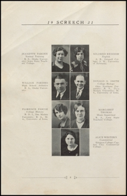 Page 16, 1931 Edition, Albia Community High School - Screech Yearbook (Albia, IA) online yearbook collection