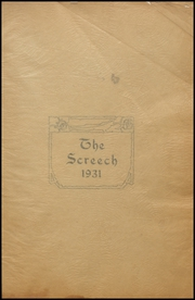 Page 5, 1931 Edition, Albia Community High School - Screech Yearbook (Albia, IA) online yearbook collection
