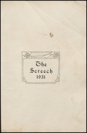 Page 7, 1931 Edition, Albia Community High School - Screech Yearbook (Albia, IA) online yearbook collection