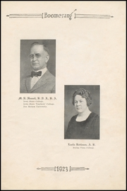 Page 11, 1923 Edition, Winterset High School - Boomerang Yearbook (Winterset, IA) online yearbook collection
