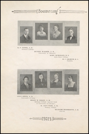 Page 12, 1923 Edition, Winterset High School - Boomerang Yearbook (Winterset, IA) online yearbook collection