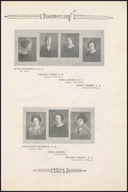 Page 13, 1923 Edition, Winterset High School - Boomerang Yearbook (Winterset, IA) online yearbook collection