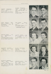 Page 17, 1941 Edition, Winterset High School - Boomerang Yearbook (Winterset, IA) online yearbook collection