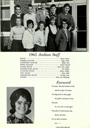 Page 8, 1965 Edition, Arab High School - Arabian Yearbook (Arab, AL) online yearbook collection