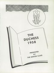 Page 5, 1958 Edition, Pella High School - Duchess Yearbook (Pella, IA) online yearbook collection