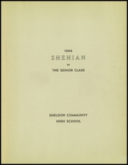 Page 5, 1944 Edition, Sheldon High School - Shehian Yearbook (Sheldon, IL) online yearbook collection
