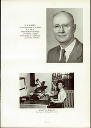 Page 11, 1954 Edition, Washington High School - Cherokean Yearbook (Cherokee, IA) online yearbook collection