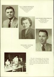 Page 14, 1954 Edition, Washington High School - Cherokean Yearbook (Cherokee, IA) online yearbook collection