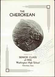 Page 7, 1954 Edition, Washington High School - Cherokean Yearbook (Cherokee, IA) online yearbook collection