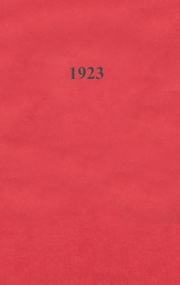 Page 1, 1923 Edition, Monticello High School - Panther Yearbook (Monticello, IA) online yearbook collection