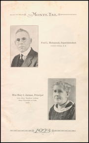 Page 11, 1923 Edition, Monticello High School - Panther Yearbook (Monticello, IA) online yearbook collection
