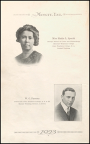 Page 12, 1923 Edition, Monticello High School - Panther Yearbook (Monticello, IA) online yearbook collection