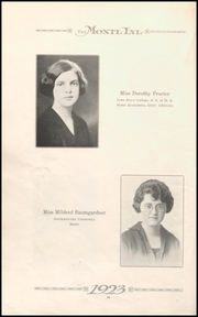 Page 14, 1923 Edition, Monticello High School - Panther Yearbook (Monticello, IA) online yearbook collection