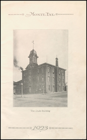Page 7, 1923 Edition, Monticello High School - Panther Yearbook (Monticello, IA) online yearbook collection