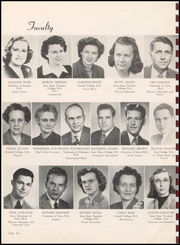 Page 8, 1949 Edition, Monticello High School - Panther Yearbook (Monticello, IA) online yearbook collection