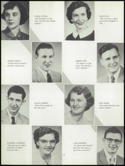 Page 16, 1955 Edition, Monticello High School - Panther Yearbook (Monticello, IA) online yearbook collection