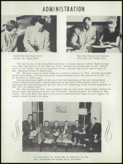 Page 6, 1955 Edition, Monticello High School - Panther Yearbook (Monticello, IA) online yearbook collection