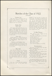 Page 16, 1922 Edition, Belmond High School - Bronco Yearbook (Belmond, IA) online yearbook collection
