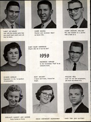 Page 14, 1959 Edition, Jefferson High School - Jeffersonian Yearbook (Jefferson, IA) online yearbook collection