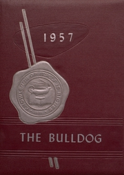 Mediapolis High School - Bulldog Yearbook (Mediapolis, IA) online yearbook collection, 1957 Edition, Page 1