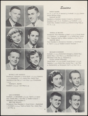 Page 12, 1955 Edition, Wapello High School - Ollepaw Yearbook (Wapello, IA) online yearbook collection