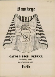 Page 3, 1945 Edition, Garner Hayfield High School - Yearbook Yearbook (Garner, IA) online yearbook collection