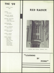 Page 5, 1959 Edition, Corning High School - Red Raider Yearbook (Corning, IA) online yearbook collection