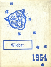 1954 Edition, Columbus Community High School - Wildcat Yearbook (Columbus Junction, IA)