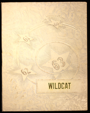 1963 Edition, Columbus Community High School - Wildcat Yearbook (Columbus Junction, IA)