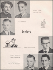 Page 12, 1952 Edition, Sumner High School - Echoes Yearbook (Sumner, IA) online yearbook collection