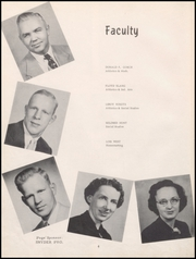 Page 8, 1952 Edition, Sumner High School - Echoes Yearbook (Sumner, IA) online yearbook collection