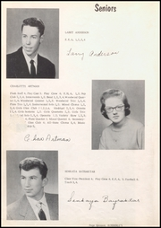 Page 8, 1959 Edition, Sumner High School - Echoes Yearbook (Sumner, IA) online yearbook collection