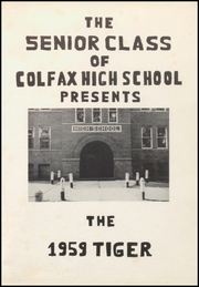 Page 5, 1959 Edition, Colfax High School - Tiger Yearbook (Colfax, IA) online yearbook collection
