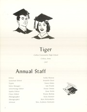 Page 6, 1967 Edition, Colfax High School - Tiger Yearbook (Colfax, IA) online yearbook collection