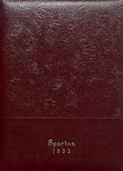 1953 Edition, Grundy Center High School - Spartan Yearbook (Grundy Center, IA)