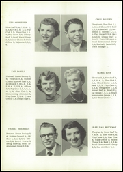 Page 14, 1955 Edition, Grundy Center High School - Spartan Yearbook (Grundy Center, IA) online yearbook collection
