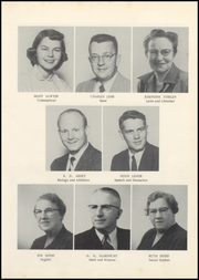 Page 11, 1956 Edition, Grundy Center High School - Spartan Yearbook (Grundy Center, IA) online yearbook collection