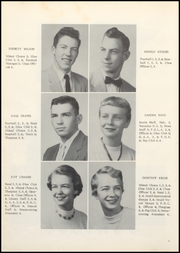 Page 16, 1956 Edition, Grundy Center High School - Spartan Yearbook (Grundy Center, IA) online yearbook collection