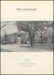 Page 5, 1956 Edition, Grundy Center High School - Spartan Yearbook (Grundy Center, IA) online yearbook collection