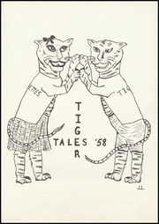 Page 5, 1958 Edition, Guthrie Center High School - Tiger Tales Yearbook (Guthrie Center, IA) online yearbook collection