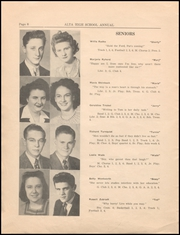 Page 10, 1945 Edition, Alta Community High School - Cyclone Yearbook (Alta, IA) online yearbook collection